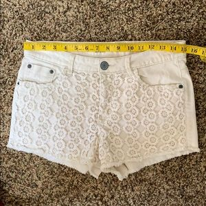 Massimo Supply Co High Rise Women's Shorts